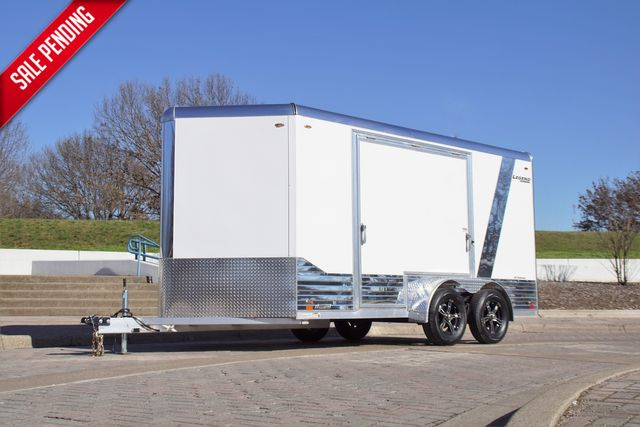 2021 Legend 7' X 17' ALL ALUMINUM DELUXE V-NOSE W/ ESCAPE DOOR in Keller, TX 76111
