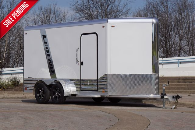 2020 Legend 7X17 Deluxe V-Nose w/ Step