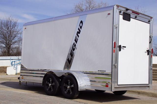 2020 Legend 7X17 Deluxe V-Nose w/ Step in Fort Worth, TX 76111