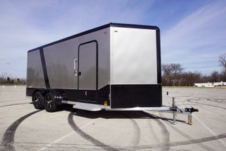 2020 Legend 7X19 Deluxe V-Nose Blackout w/ e track in Fort Worth, TX 76111