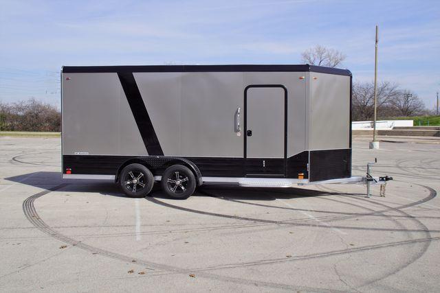 2020 Legend 7' X 19' Deluxe V-Nose Blackout W/ E-Track $10,250 in Keller, TX 76111