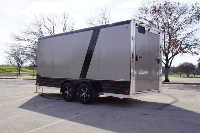 2020 Legend 7X19 Deluxe V-Nose Blackout W/ E-Track in Fort Worth, TX 76111