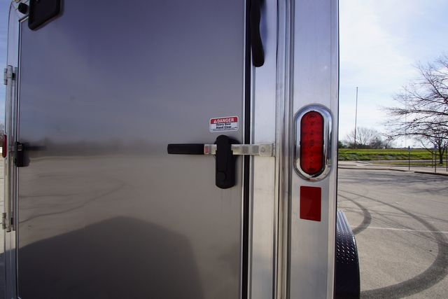 2020 Legend 7X19 Deluxe V-Nose Blackout W/ E-Track in Keller, TX 76111