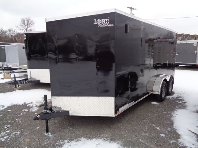 "2020 Look Trailers 7 x 16 ST Cargo Deluxe 6 "" Extra Height w/ Ramp Door in Brockport, NY 14420"