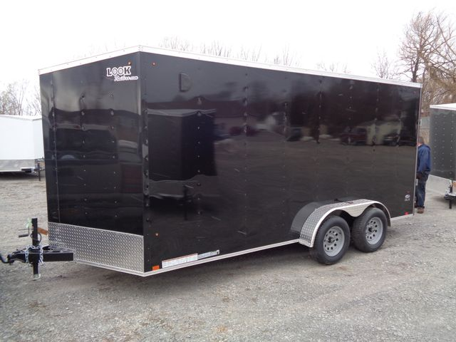 "2020 Look Trailers 7 x 16 ST Cargo Deluxe 12"" Extra Height Ramp Door in Brockport, NY 14420"