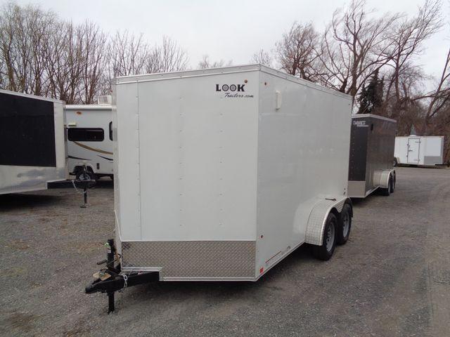 """2020 Look Trailers ST Cargo Deluxe 7x12 Barn Door 6 """" Extra Height"""