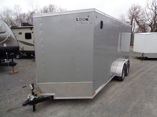 "2020 Look Trailers STLC Cargo Deluxe 7 x 16 6 "" Extra Height Barn Doors"