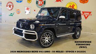 2020 Mercedes-Benz AMG G 63 W4 MSRP 185K,ROOF,NAV,360 CAM,56 MILES,WE FINANCE in Carrollton, TX 75006