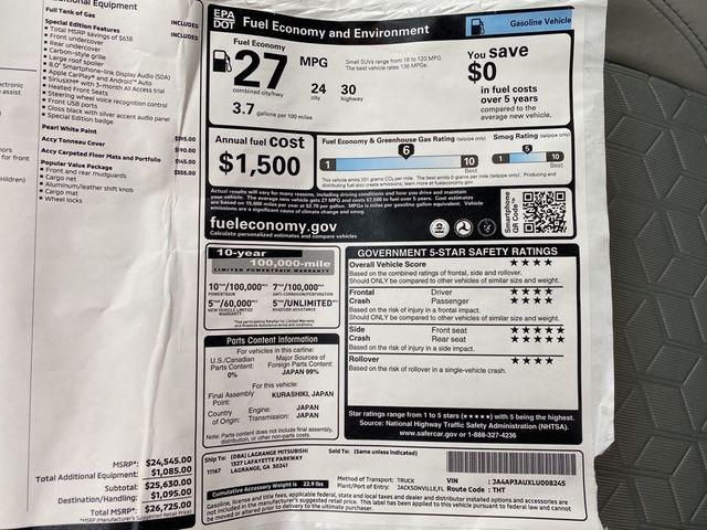 2020 Mitsubishi Outlander Sport 2.0 SP Madison, NC 34