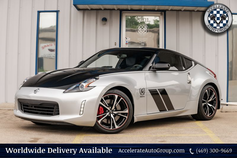 2020 Nissan 370Z Coupe 50TH ANNIVERSARY EDITION CLEAN CARFAX 1 OWNER MT in Rowlett Texas