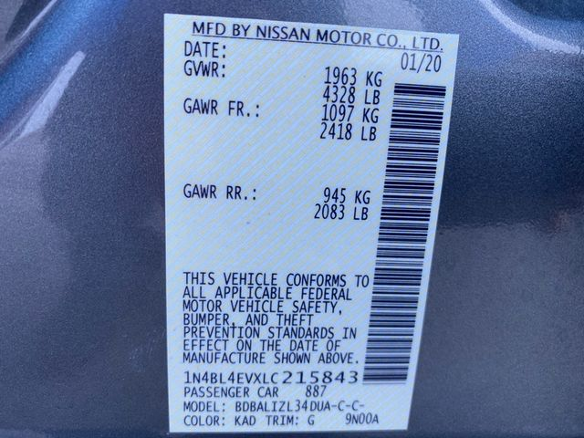 2020 Nissan Altima 2.5 SL Madison, NC 41