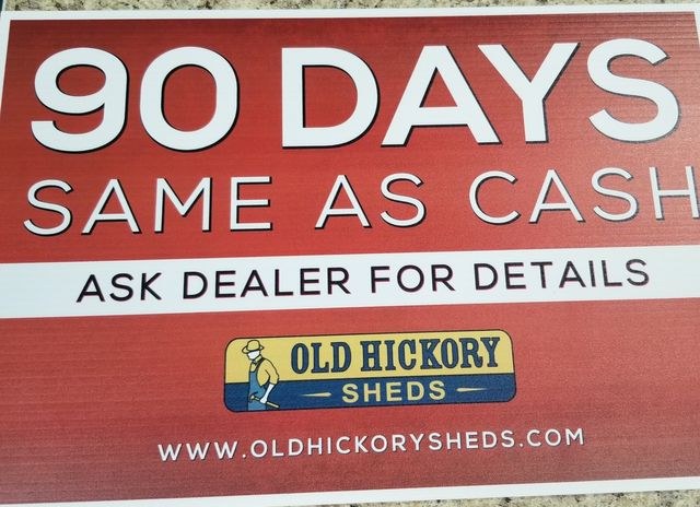 2020 Old Hickory Sheds 10x16 Lofted Barn Old Hickory buildings in Dickinson, ND 58601