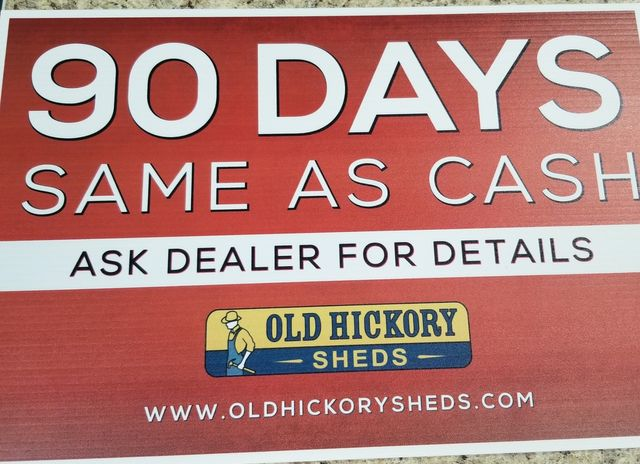 2021 Old Hickory Sheds 12x28 ATV Garage Shed in Dickinson, ND 58601