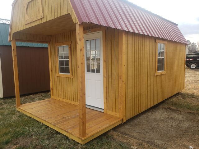 2021 Old Hickory Sheds 10x20 Lofted Play House in Dickinson, ND 58601