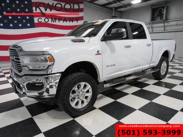 2020 Ram 2500 Dodge Laramie 4x4 Diesel White 1 Owner Nav Roof 20s NICE