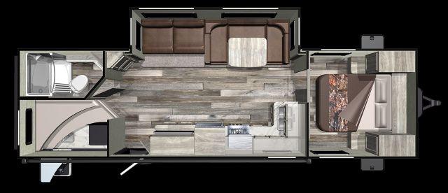 2020 Starcraft Mossy Oak Ultra Lite 281BH Mandan, North Dakota 1