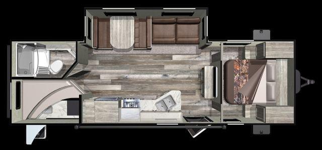 2020 Starcraft Mossy Oak Ultra Lite 261BH Mandan, North Dakota 4