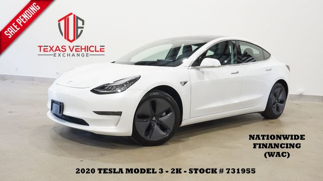 2020 Tesla Model 3 Long Range AWD,ROOF,NAV,BACK-UP,HTD LTH,2K