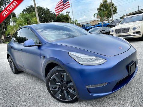 2020 Tesla Model Y FULL SELF DRIVING LONG RANGE PREMIUM WHITE in Plant City, Florida