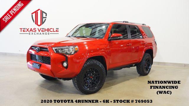 2020 Toyota 4Runner SR5 Premium 4X4 SUNROOF,NAV,HTD LTH,BLK WHLS,6K
