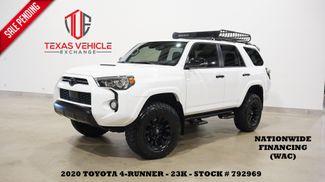 2020 Toyota 4Runner Venture 4X4 LIFTED,ROOF,NAV,HTD LTH,FUEL WHLS,23K in Carrollton, TX 75006