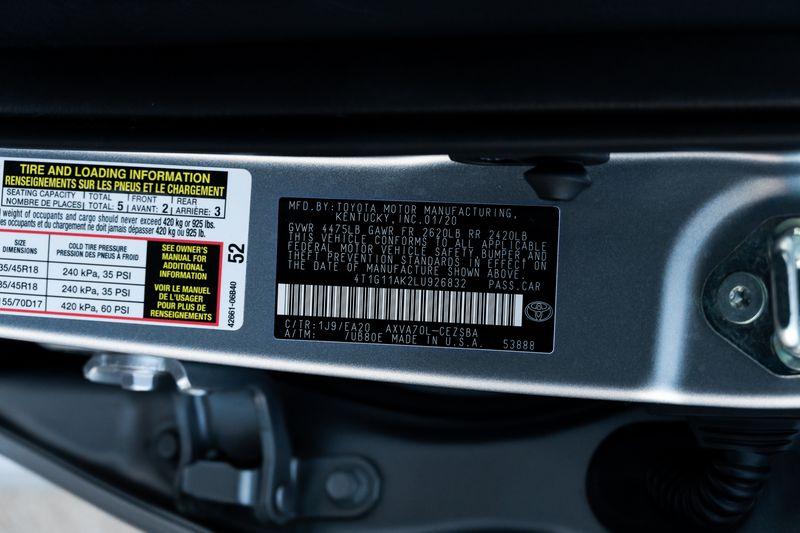 2020 Toyota Camry SE Nightshade in Rowlett, Texas