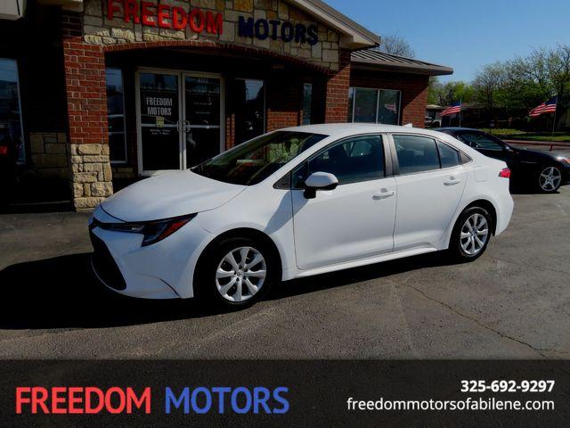 2020 Toyota Corolla LE in Abilene,Tx, Texas 79605
