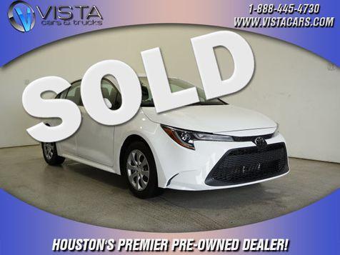 2020 Toyota Corolla LE in Houston, Texas