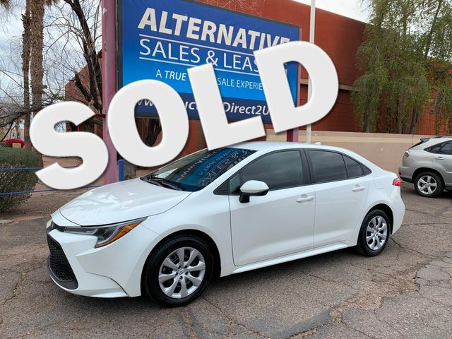 2020 Toyota Corolla LE FULL MANUFACTURER WARRANTY Mesa, Arizona