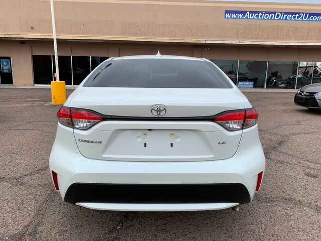 2020 Toyota Corolla LE FULL MANUFACTURER WARRANTY Mesa, Arizona 3