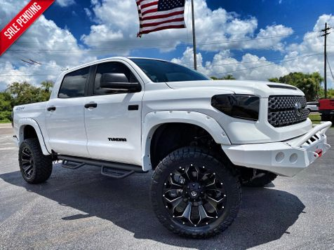 2020 Toyota Tundra CUSTOM LIFTED LEATHER FLARES 4X4 CREWMAX in Plant City, Florida