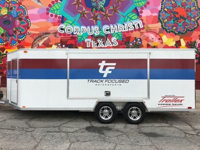 2020 Trailex Enclosed Aluminum Car Trailer