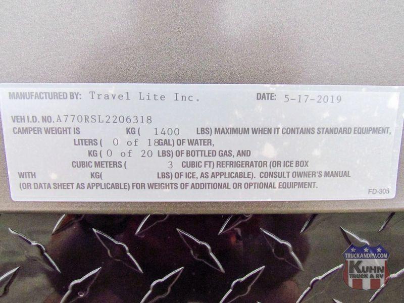 2020 Travel Lite Super Lite 770RSL  in Sherwood, Ohio