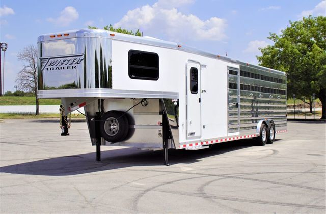 2020 Twister Stock With Mid Tack and 8' Living Quarters