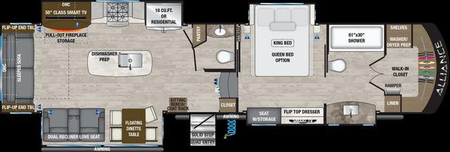 2021 Alliance Rv Paradigm 370FB  in Surprise-Mesa-Phoenix AZ