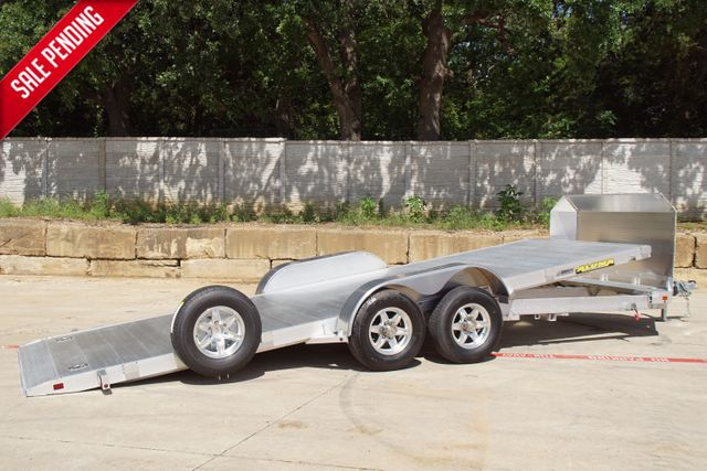 2021 Aluma 20' Power Tilt Car Hauler 8220H Tilt