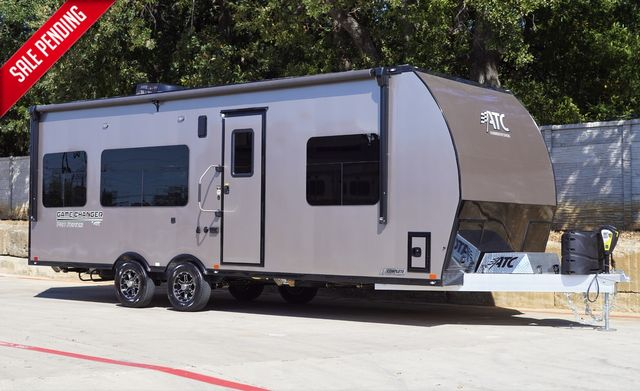 2021 Atc 2513 GAME CHANGER PRO ALL ALUMINUM TOY HAULER PRE- PRICE INCREASE $79,995