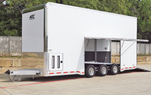 2021 Atc 26' ALL ALUMINUM STACKER ST305 W/ TILTING LIFT AND PREMIUM ESCAPE DOOR $69,995
