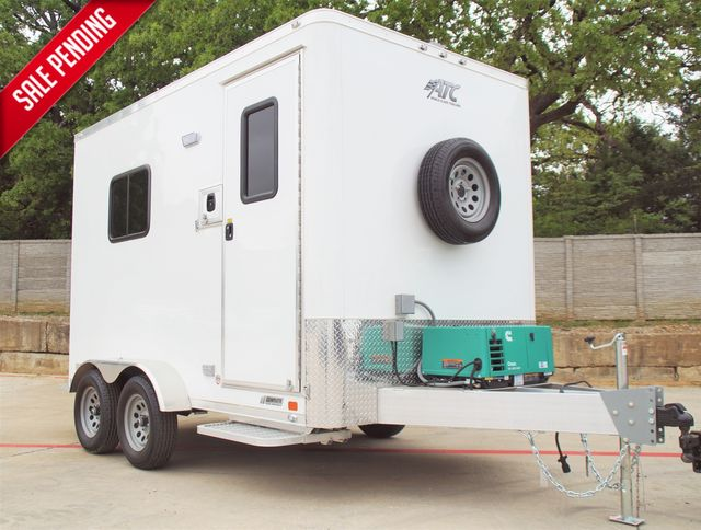2021 Atc 7X12 FIBER OPTIC TRAILER - STANDARD PACKAGE W/ GENERATOR A/C HEAT AND MORE $30,995 in Keller, TX 76111