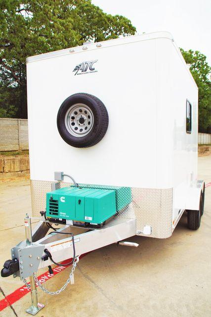 2021 Atc 7X12 FIBER OPTIC TRAILER - STANDARD PACKAGE W/ GENERATOR A/C HEAT $30,995 in Keller, TX 76111