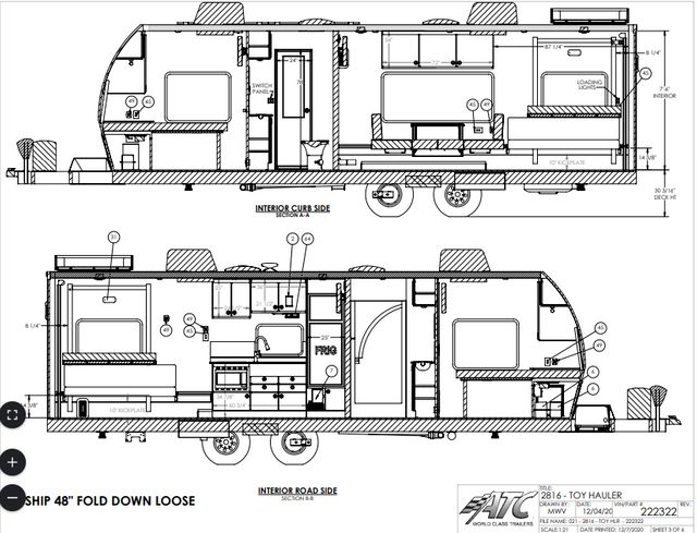 2021 Atc ALL NEW 8.5 X 28 LOADED PRO MODEL- COMING SOON in Keller, TX 76111