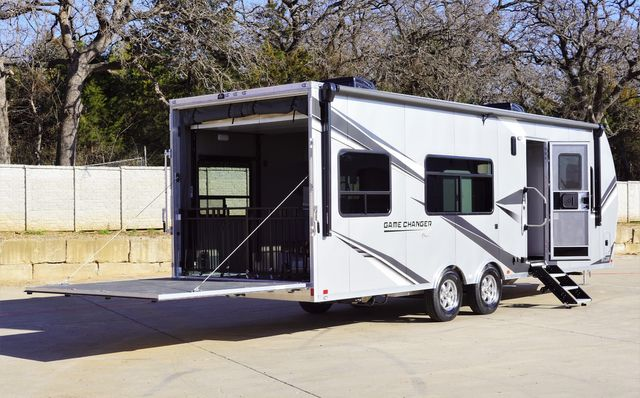 2021 Atc Game Changer 2816 Front Bedroom Model W/ Patio Railing Gen Prep and Dual Batteries in Keller, TX 76111