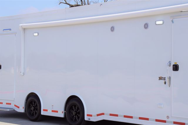 2021 Atc 8.5' X 42' ATC WHITEOUT CAR HAULER W/ 13' CUSTOM LIVING QUARTERS in Keller, TX 76111