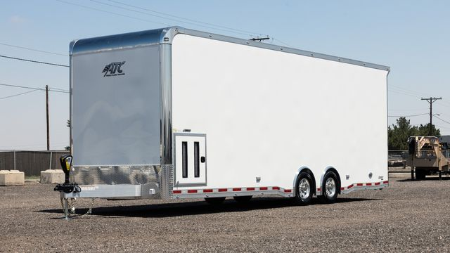 2021 Atc QUEST Custom CH405 28' Race Trailer in Keller, TX 76111