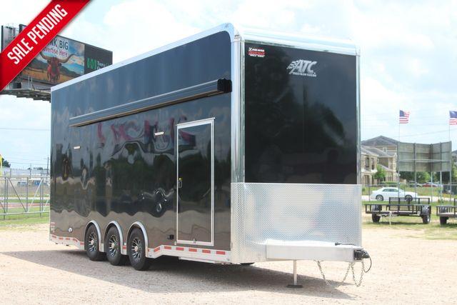 2021 Atc QUEST STACKER ST305 Race Trailer with Lift & Premium Escape Door