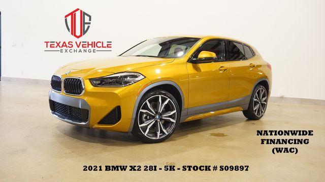 2021 BMW X2 sDrive28i M SPORT X PKG,PANO ROOF,NAV,LTH,5K,WE FINANCE