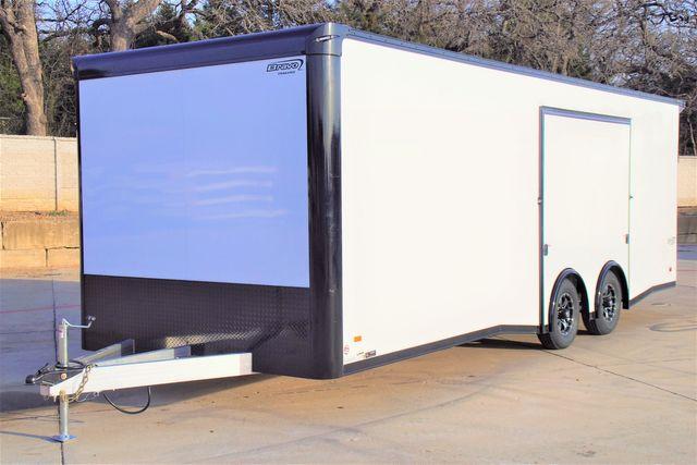 2021 Bravo Aluminum Silver Star 8.5' x 24' Premium Car Hauler