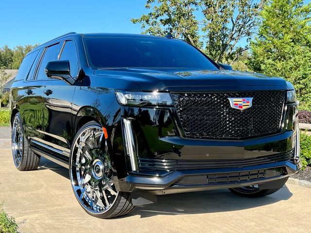 """2021 Cadillac Escalade Esv 4wd SPORT PACKAGE ONLY 7K MILES 30"""" FORGIATOS in Woodbury, New Jersey 08093"""