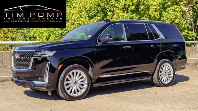 2021 Cadillac Escalade Luxury 22'S NAVIGATION HEATED LEATHER SEATS