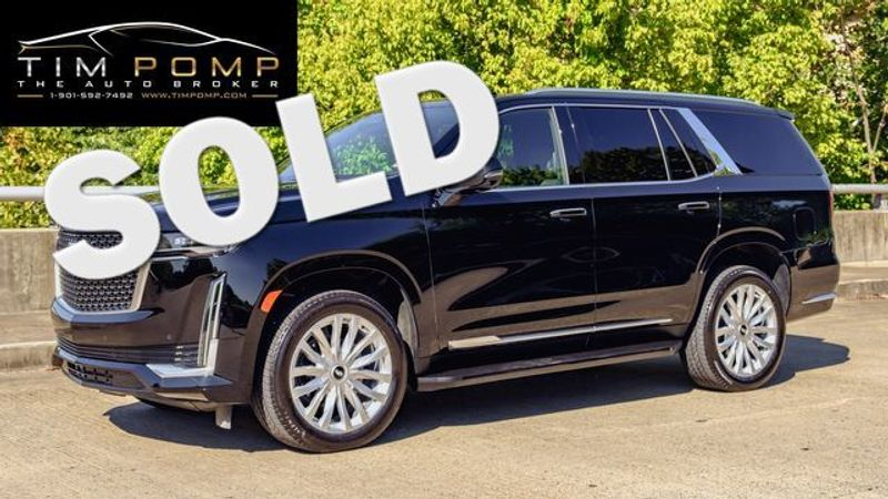 2021 Cadillac Escalade Luxury   Memphis, Tennessee   Tim Pomp - The Auto Broker in Memphis Tennessee